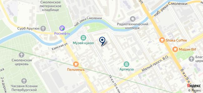 Prima Svet на карте