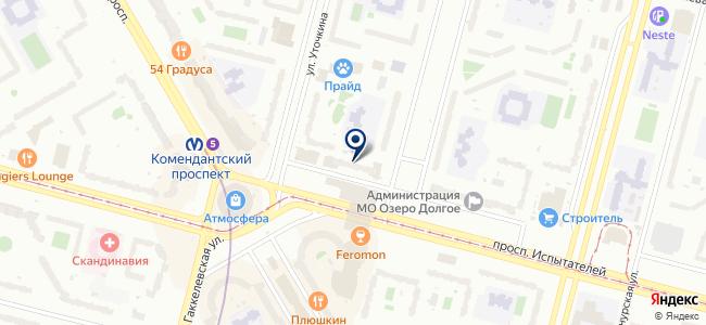 Стройметизы на карте