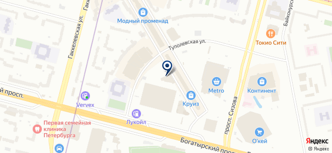 Теплоплит на карте