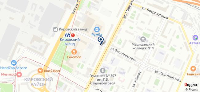 Наш город, ООО на карте