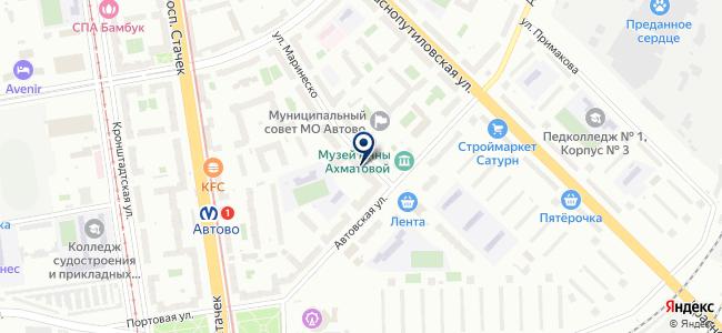 Навигатор, ООО на карте