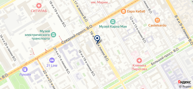 Торговый дом Северо-западный, ООО на карте