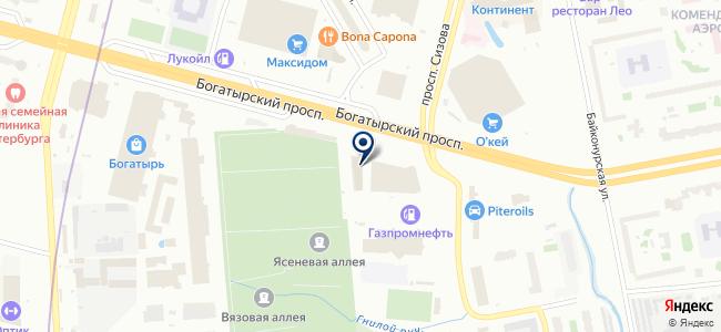 Теплолюкс, ООО на карте
