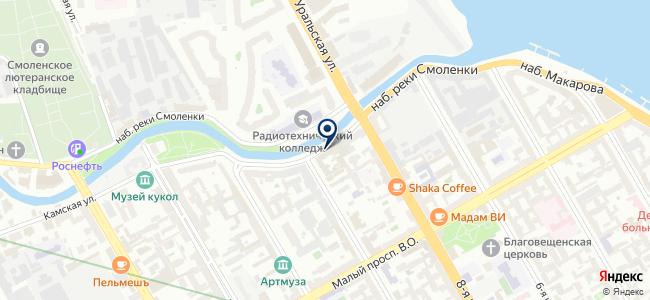 Инженерно-технический центр, ООО на карте