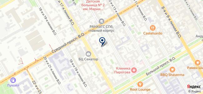 Служба Эксплуатации СПб на карте