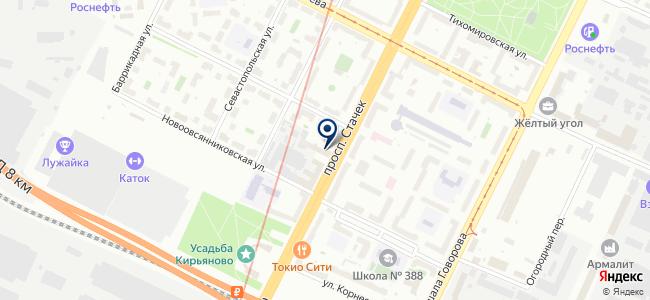 Econex на карте