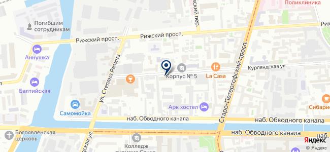 Теплостройкомплект на карте