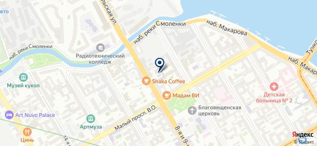 ТехноКомплект-Нева, ЗАО на карте