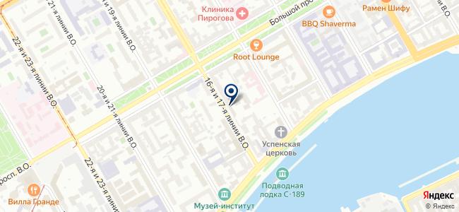АСП на карте