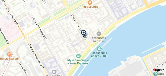 Оптеком Санкт-Петербург, ЗАО на карте