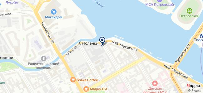 Завод им. Козицкого, ЗАО на карте