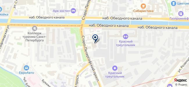 Пуск на карте