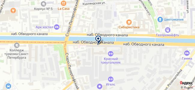 ТЭК, ООО на карте