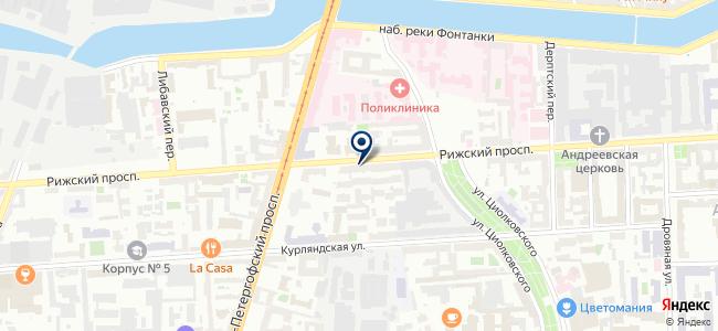 Коррект Марин Ентерпрайз, ЗАО на карте