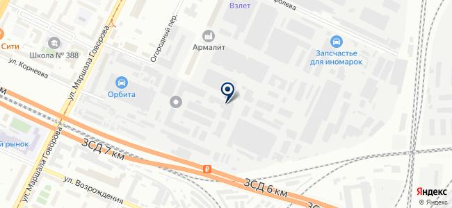 УЗ-Константа, ЗАО на карте