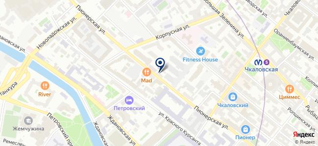Модуль-3, ЗАО на карте