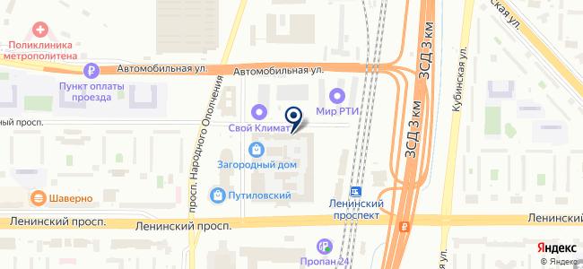 Торговый Дом МегаТонн, ООО на карте