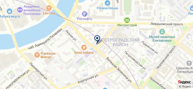 Контехпром на карте