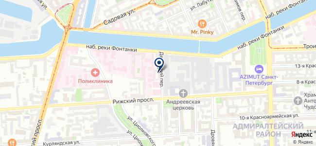 СКАН, ЗАО на карте