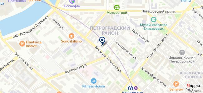 МОДУЛЬ М на карте