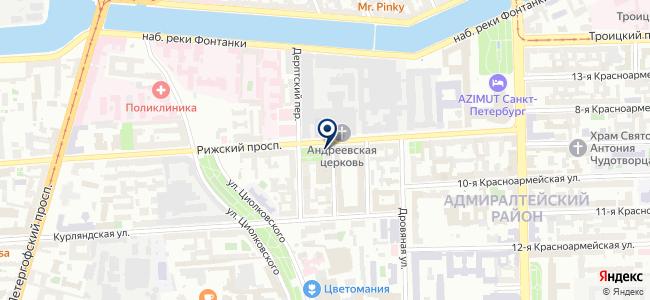 БАСТ ГРУПП, ООО на карте