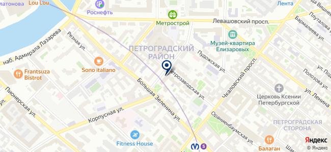 Техника и Технология, ООО на карте