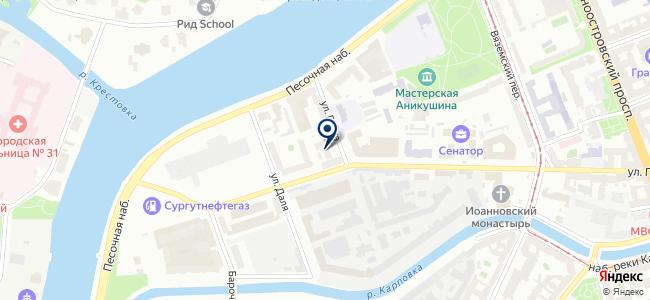 Кабельные сети, ЗАО на карте
