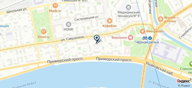 Петрострой, ООО на карте