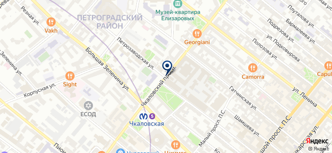 Метрика на карте