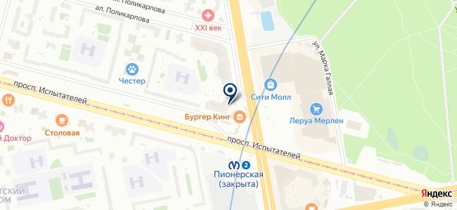 Ekey.ru на карте