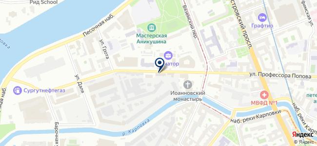 Русский интерьер на карте