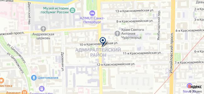 Виктория 7 на карте