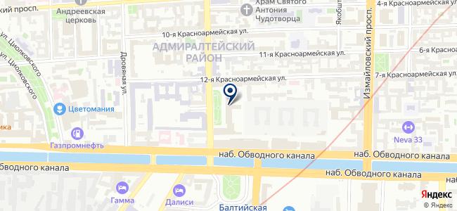 Алмаз-СПб на карте