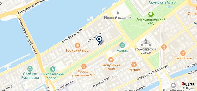 Сегвей СПб, ООО на карте