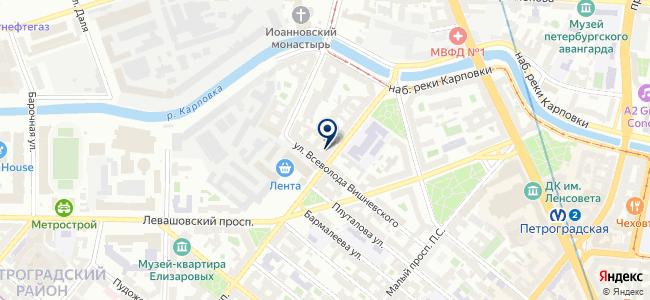 Импульс, ЗАО на карте