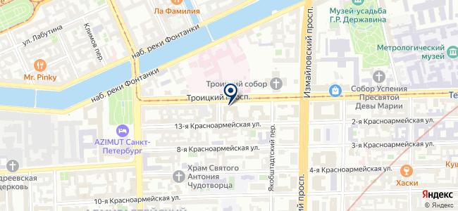 Радиоавионика, ОАО на карте