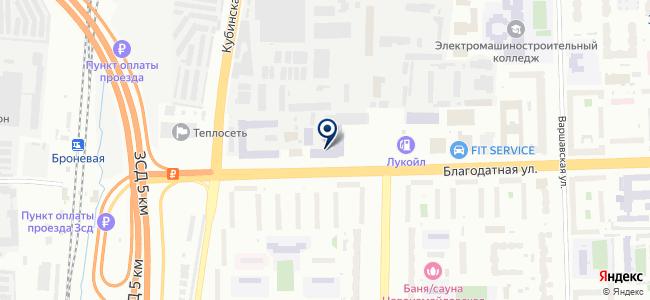 ВИЛ-Т на карте