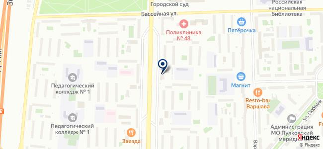 Магазин электротоваров на Новоизмайловском проспекте, 22 к1 на карте