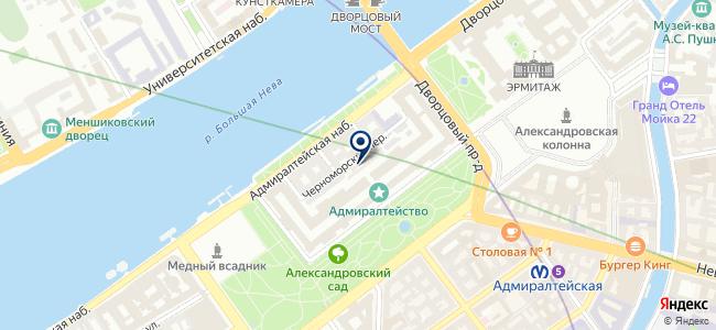 ПРОК на карте