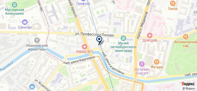 С-Инжиниринг на карте