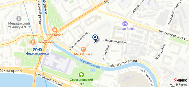 Балтхимпроект, ООО на карте