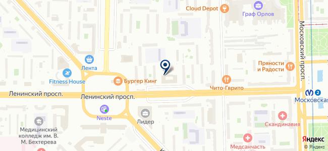 Элмо трейд, ЗАО на карте