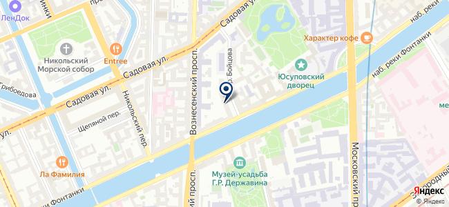 Аналитстандарт, ООО на карте