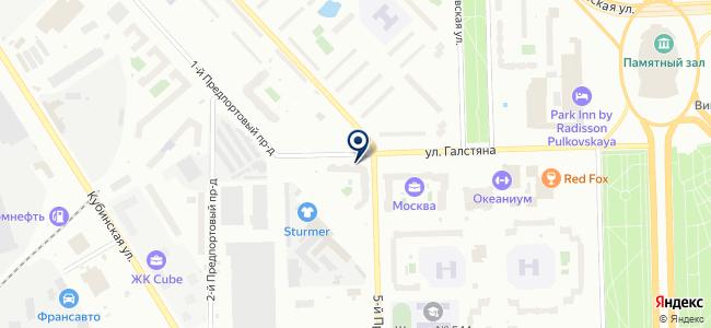 МЕАНДР, ЗАО на карте