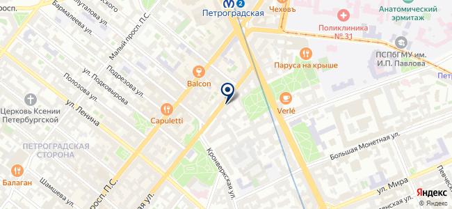 Балтекс СПб. Строительство и Реновации на карте