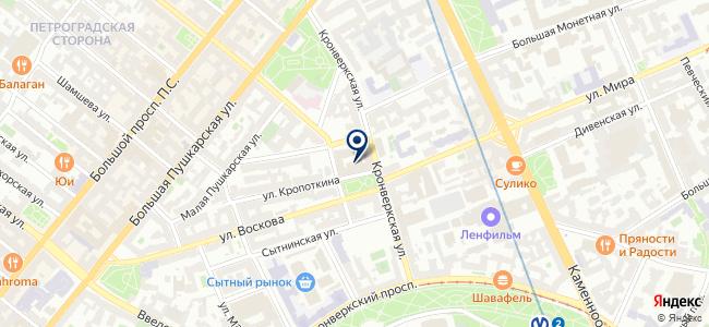 Профсервис, ООО на карте