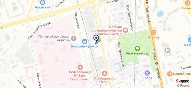 ЭлектроБензоЛюкс, ООО на карте