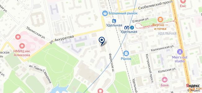 Платон СПб на карте