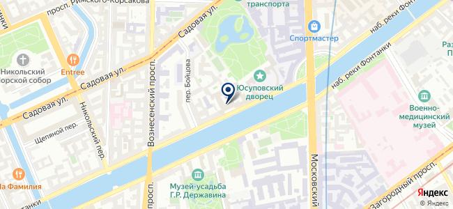 Виста СПб на карте