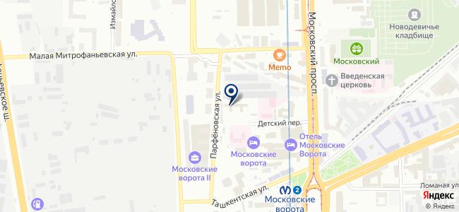 Симэкс, ООО на карте